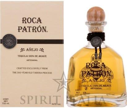 Roca Patron Anejo Tequila 100% de Agave + GB 44,00% 0.7 l